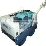 WKR700 Double Drum Walk Behind Hydraulic Pump Vibratory Roller with water-cooled diesel engine