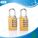 AJF High quality and hot selling 4 digits square aluminium cipher lock, digital combination lock