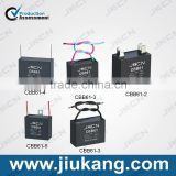 High Quality China Manufacturers cbb61 generator fan capacitor for sale