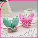 Lovely rabbit ears hair band candy colorful decorative headband
