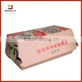Custom printed hamburger packaging box kraft paper burger boxes                                                                                                         Supplier's Choice