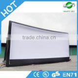 Factory price inflatable projection screen,inflatable outdoor advertising screen,inflatable movie theater screen