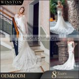 OEM factory arabic prom dress straps sweetheart backless bridal gown