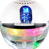 funglan OEM factory air purifier KJ-168 champagne and white uv lamp aroma diffuser water based air freshener vaporizer