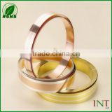 Electronic material brass clad silver bimetal strips