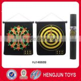 new style plastic toy dart game18 inch soft magnetic darts board