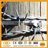 Hot dipped galvanized high quality barbed wire roll