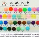 ChenLin acrylic stones card chart for sew on craft plastic pointback flatback fashion decorations craft marking
