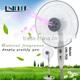 2015 new fragrance automatic dispenser manual fan