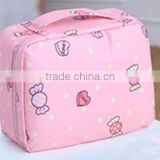 The new products OEM various colors makeup sets for women high quality portable comestic bags