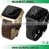 New Bluetooth Smart Watch Android 4.4.2 Smart Watch Dual Core,Webcam Wifi Fm Camera with Bluetooth Support