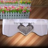 New Arrival Women Elastic Waist Belts High Quality Lady Stretch Belt With PU Leather Ending