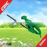 500W portable garden extension hedge trimmer