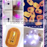 NFC LED NAIL ART STICKERS&MAGIC NAIL ART&COOL NAILS ART DECOR FOR THE UPCOMING HAPPY NEW YEAR