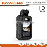 Full HD Wearable Police Camera With 8-9 hours Record Duration professional police camera