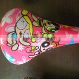 2014 lovely cartoon bmx seat with different color