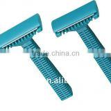 Disposable medical double edge body hair remove razor