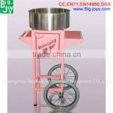 cotton candy machine with cart for commercial use