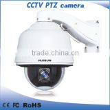 Ipp66 protection 650 TVL 256 preset number 30X Optical zoom PTZ glass dome for camera
