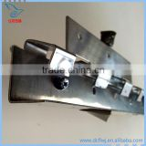 Multi types and sizes pvc curtain rail for windows