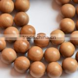 mysore-sandalwood carving bead necklace/sandalwood mala 108 beads/sandalwood neklace bead