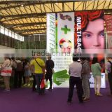 the indoors plain pattern warp knit display faric for digital direct printing