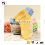 0-3 year old cotton Autumn and winter thick terry baby solid color children kids Antiskid socks