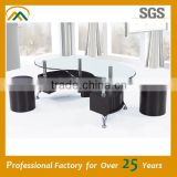 Modern Appearance and Glass Material coffee table JY-01