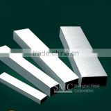 aisi 316l oval slotted tube for glass,stainless steel square slotted tube,steel groove tube