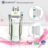 FDA CE approved beauty equipment comfortable treatment permanent result freezing fat cryolipolisis machine