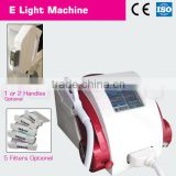 Promotion!!!Luxury E-light hair removal machine, colon hydrotherapy equipment