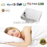 Electric Blanket 220v with euro plug and timers from China manufacturer