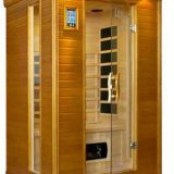 solid wood hemlock far infrared sauna room