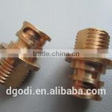 small threaded brass nipple fittings, male threaded brass grease nipple fitting