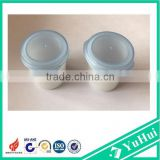 12g PP plastic jar flip top cap mini pharmaceutical pills container plastic cosmetic jar mini pp flip top jar