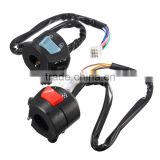 1pair Universal 7/8'' Motorcycle Handlebar Horn Turn Signal Light Control Switch Fog Light ON-OFF Button Switch