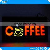 Wholesale advertising outdoor LED sign board /customized LED open sign neon display board