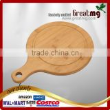 2017 Hot selling Bamboo Pizza Peel Paddle and luxury paddle for baking homemade pizza and bread