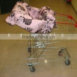 baby cotton shopping cart cover