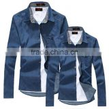 denim couple matching shirts wholesale shirts