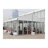 Custom White Small 6061 T6 Aluminum Alloy Rent Party Tent 20 x 20m With Glass Wall