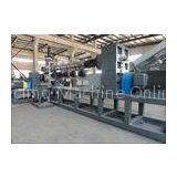 HDPE , LDPE , PP , BOPP Plastic bag recycling and pelletizing machine with Side forced feeder