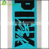 Promotional beach towel organic cotton towel printed beach towel cutom