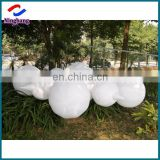 Ningbang inflatable cloud inflatable led lighting balloon for outdoor