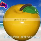Yellow Apple Inflatable water buoy for water park