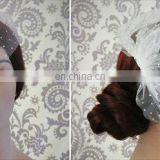 Stunning Net White Pearl Bird Cage Wedding Veils