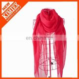 Unique chiffon colorful custom neck fashionable scarf