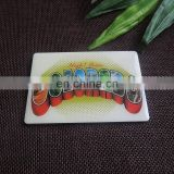 rectangle printing metal fridge magnet for promotion