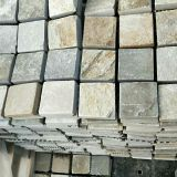Landscape Patio Paving Stone Garden Products Pavement Paver Cobblestone on Mesh
