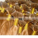 remy prebonded keratin flat-tip gule hair extension blonde color distributor opportunities